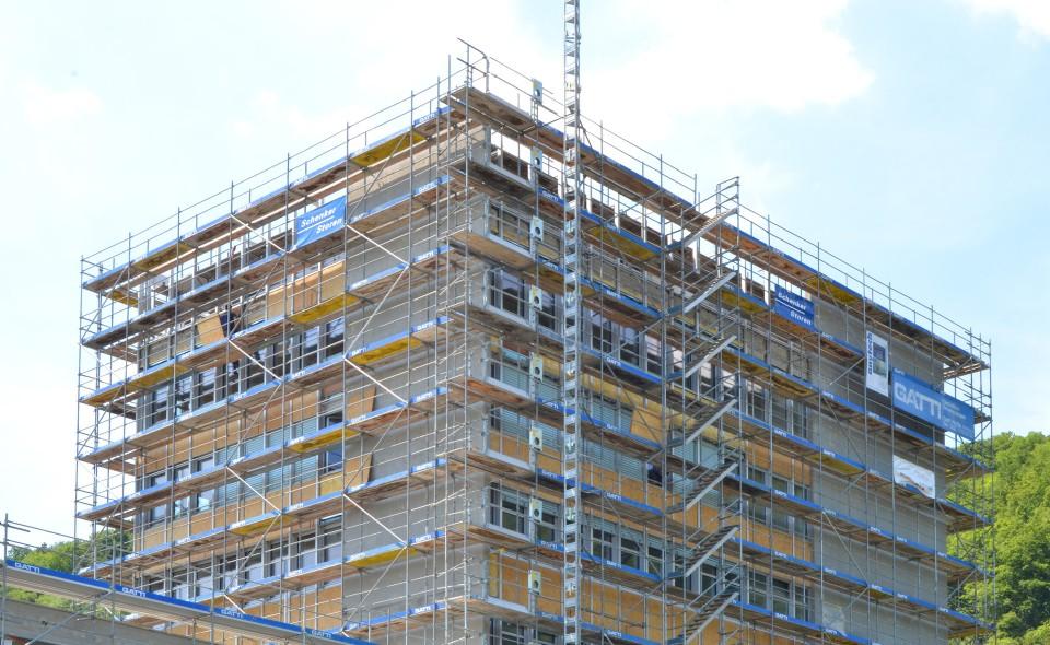 Sanierung denkmalgeschützter Fassade