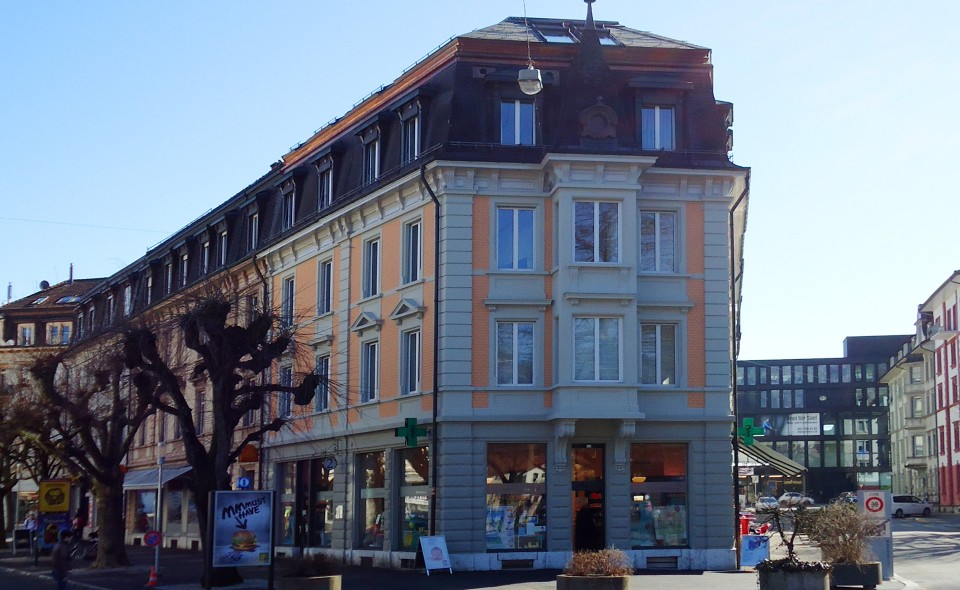 Umbau Wohn- und Geschäftshaus